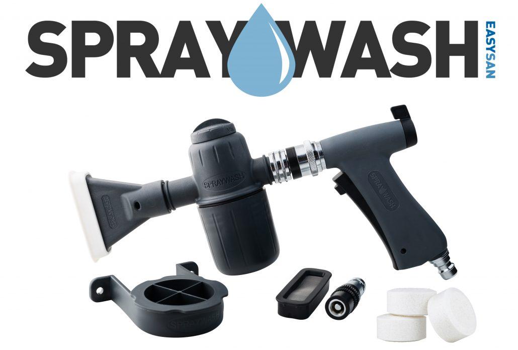 Viktig information gällande Spraywash